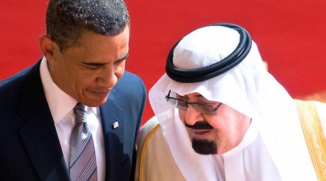 Obama Meets with Saudi King