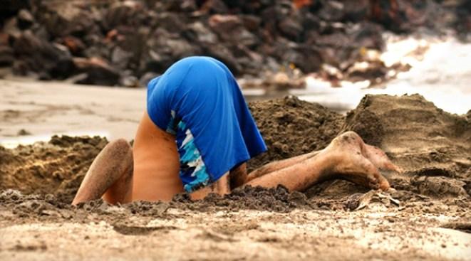 Boy Survives Sandy Brush With Death