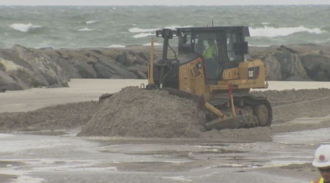In The Dead of Winter, Dune Wars Are Heating up at The Jersey Shore