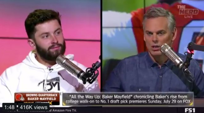 Eagles Players Thoroughly Enjoyed Baker Mayfield Owning Colin Cowherd