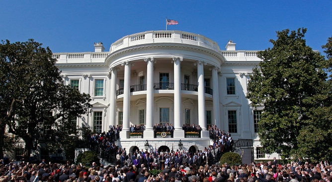 Time Is Set for Eagles' Trip to White House