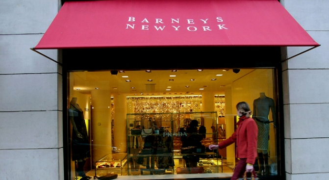 Barneys Opens in Philly