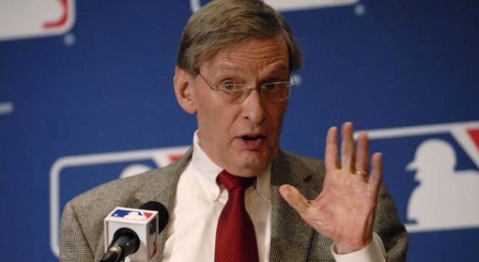 Bud Selig Calls for Tougher Drug Penalties