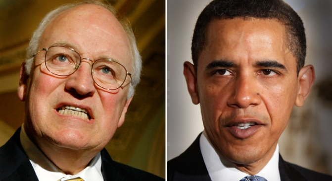 Obama and Cheney in Speech Smackdown Over Terror