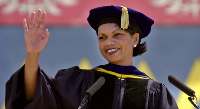 Group Demands Stanford Cut Ties With Condi
