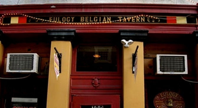 Eulogy Belgian Tavern: A Whole Lot of Beer You've Never Heard of
