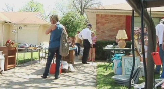 The Art of Garage Sale Shopping