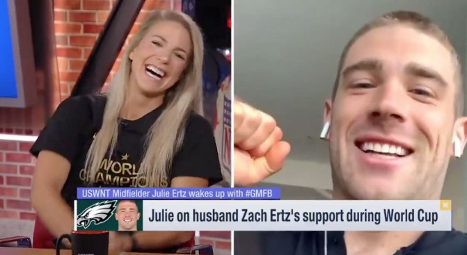 Julie Ertz Says Having Husband Zach in the Stands Was So Emotional and a Huge Motivator to Win World Cup