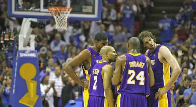 Lakers Win 15th NBA Title