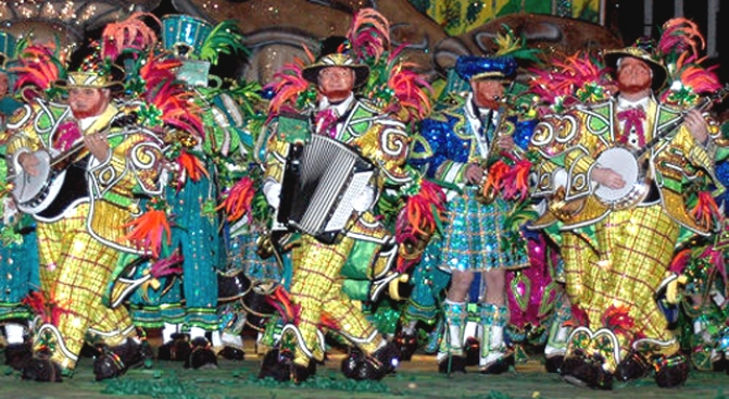 Kevin Bacon Wants to Save the Mummers