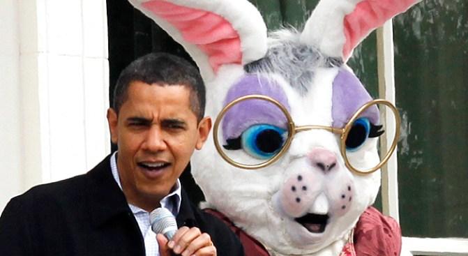 White House Easter Egg Roll Hoppin' with Star Power