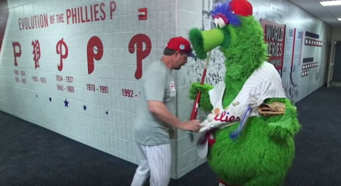 Is the Phillie Phanatic a Thief?