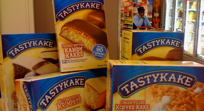 Tastykakes to Be Served at Ballpark