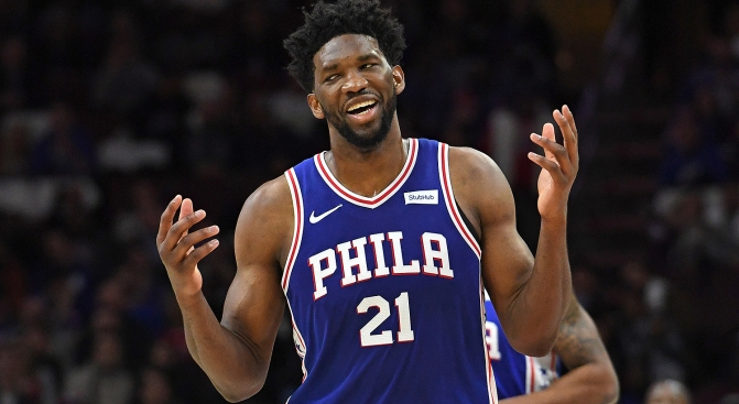 Joel Embiid Gets His MVP Honor ... Well, This One Is a Bit Different