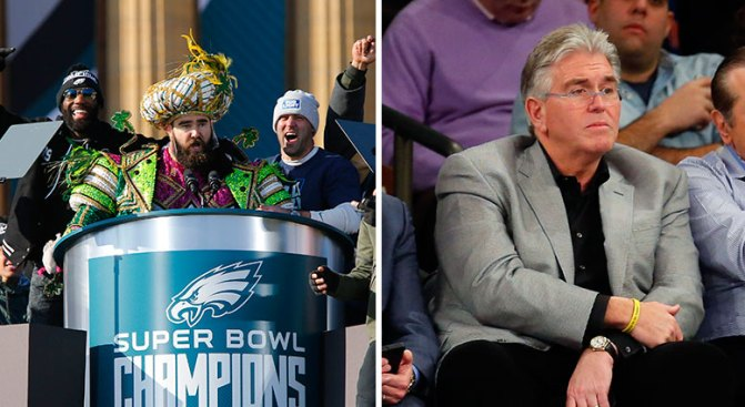 Mike Francesa Incensed Over Kelce Speech, Calls for Eagles to Cut Him