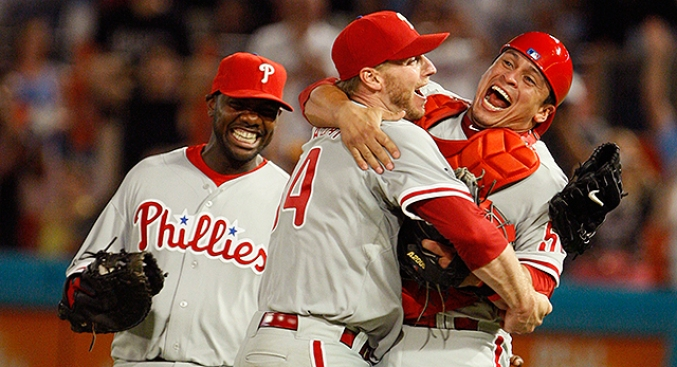 Roy Halladay Provides Epic Quote in Tribute to Carlos Ruiz, the 'little Engine That Could'