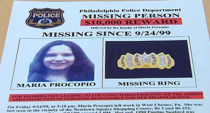 Maria Procopio tipped police off that her boyfriend was committing fraud. After that she disappeared. That was 1999. NBC10's Deanna Durante picks up the Procopio story, which is high interest again. The boyfriend killed himself last week after killing a Plymouth Twp. police officer.
