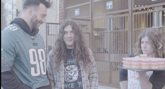 Connor Barwin and Kurt Vile Promote New Year's Show in Bizarre Fashion