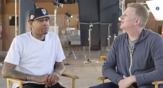 Allen Iverson Shares a Tale of Michael Jordan Trash Talking Aaron McKie