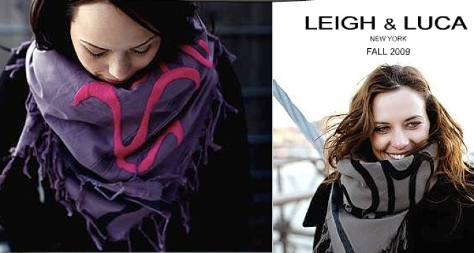 Wrap yourself in style with Leigh & Luca