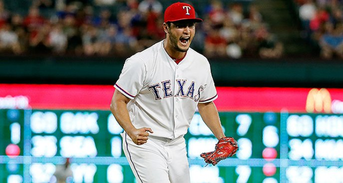 Yu Darvish Spoils Meaningful Start for Jerad Eickhoff as Phillies Lose to Rangers