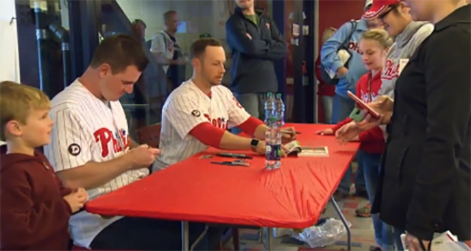 Phillies Raise $656,500 at Phillies Phestival in Fight to Strike Out ALS