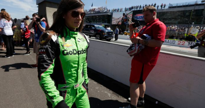Danica Patrick Crashes Out of Final Race at Indianapolis 500