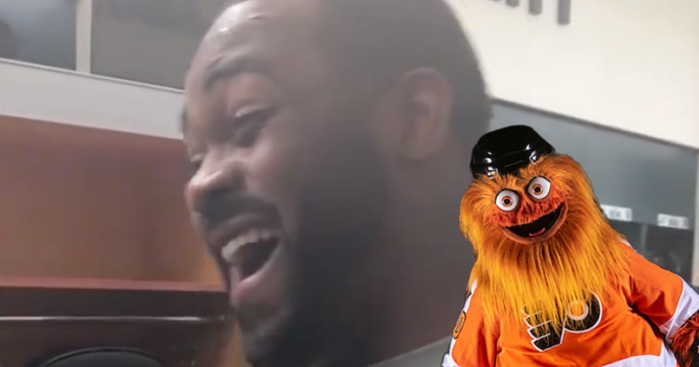 Eagles Players React to Seeing Gritty for the First Time