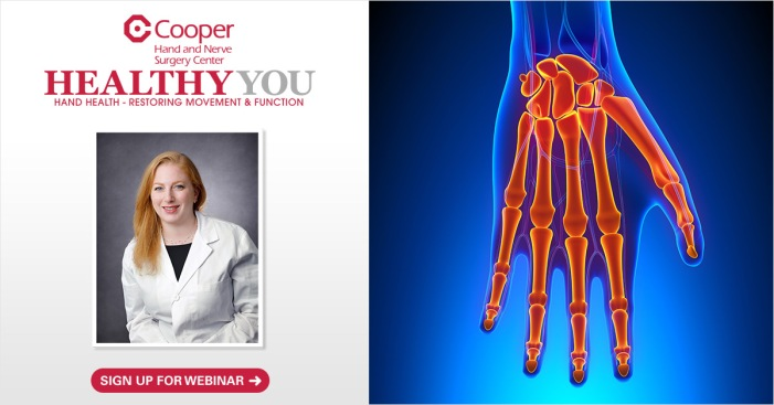 Now on Demand! Hand & Nerve Webinar from Cooper University Health Care
