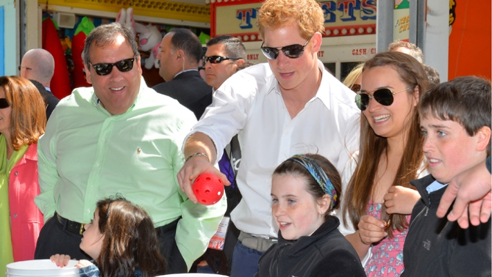 Prince Harry Visits Jersey Shore