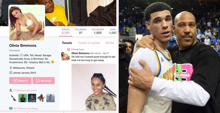 Ben Simmons' Sister Wants Her Bro to Dunk on Lonzo Ball and His Dad to Watch