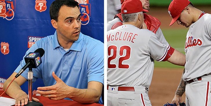 Phillies GM Klentak Supports McClure, Commitment to Developing Velasquez as Starter
