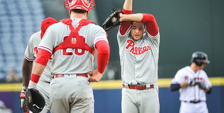 So Much for Flipping the Calendar: Phillies Lose by 10 to NL's Worst Offense