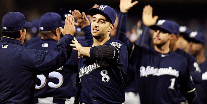 MLB Notes: Brewers Activate Ryan Braun (strained Calf) From DL