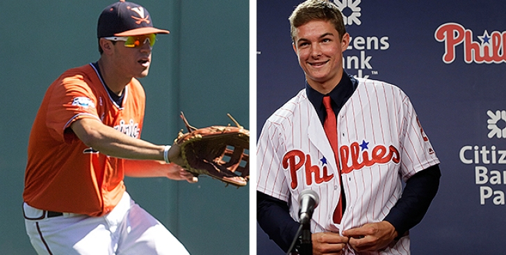 In Adam Haseley, Phillies Draft a Player 'very Similar' to Mickey Moniak