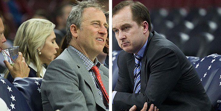 After Sixers Land 3rd Pick, Josh Harris Shouts: 'Thank You, Sam Hinkie!'