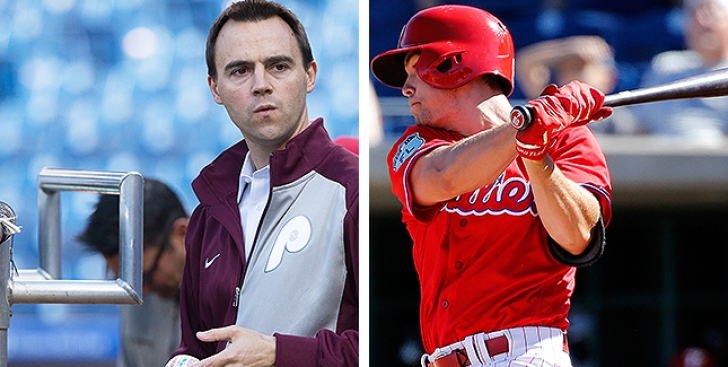 Matt Klentak on Scott Kingery: 'It's Not Time to Bring Him to the Major Leagues'