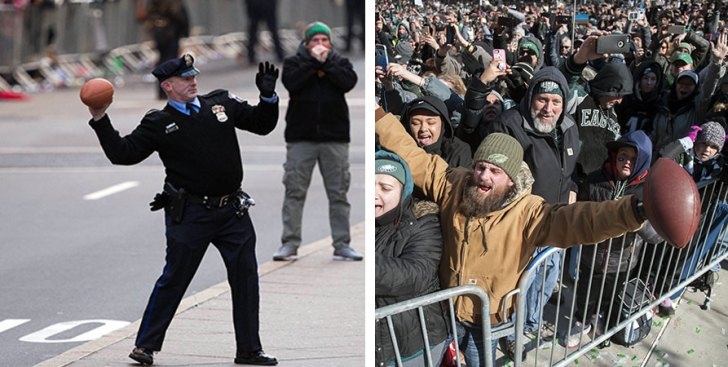 The Biggest Difference Between the Phillies and Eagles Parades