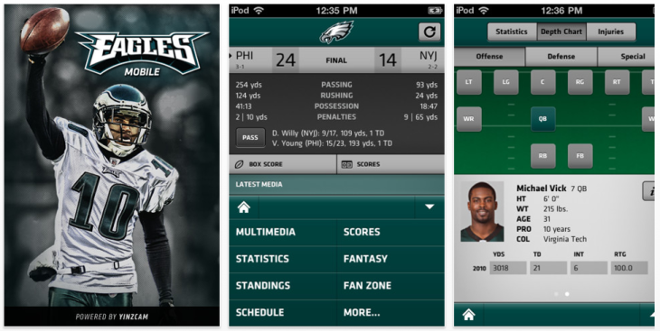 Big Eagles Fan? There Are Apps For That