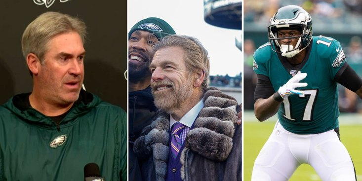Eskin Outing Alshon Led to Bizarre Press Conference Moment With Pederson