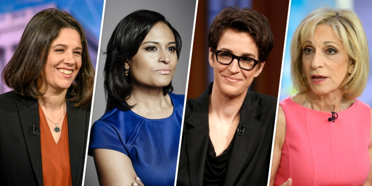 MSNBC Announces All-Female Moderating Team for November Democratic Debate