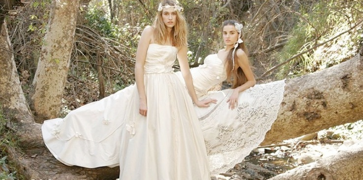 Go Green in Gorgeous Gowns from Adele Wechsler