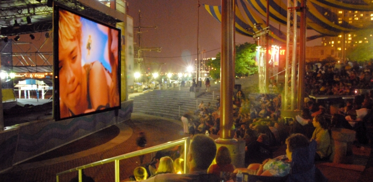 Penn's Landing Hosts Screenings Under the Stars
