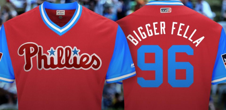 Phillies Release Nicknames for MLB Players' Weekend