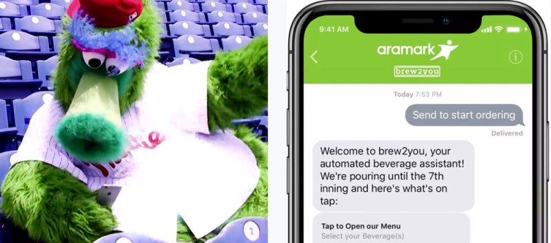 Brew2You: Phillies Fans Can Text 4 Beer Delivery at CBP