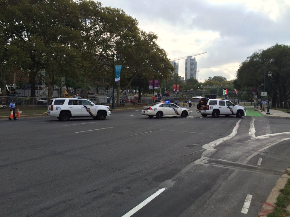 Ben Franklin Parkway Closed 1 Week Before Pope Francis Arrives