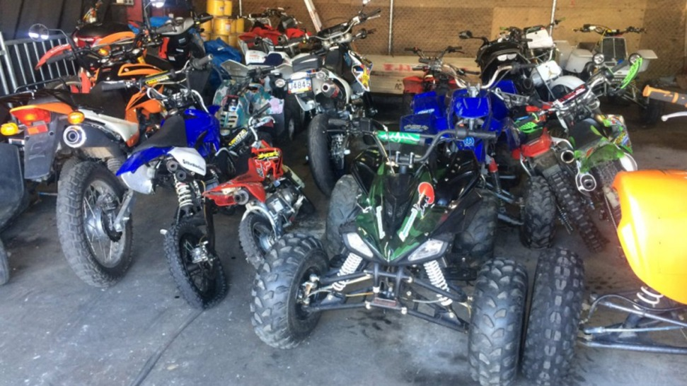 Police Seize 60 Dirt Bikes And Atvs Arrest 3 In Philly During