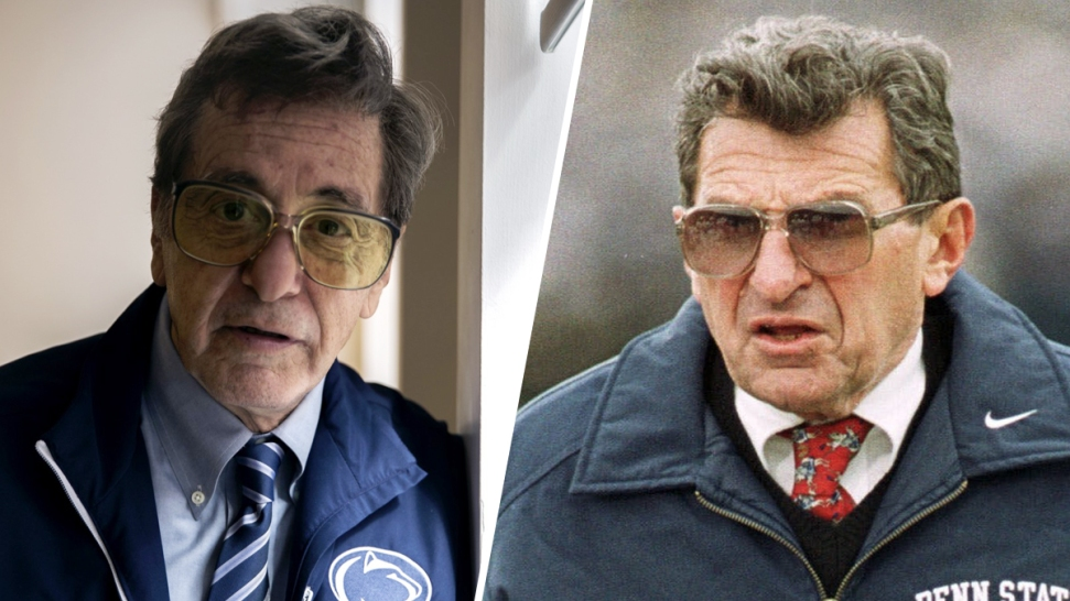 See Al Pacino as Joe Paterno