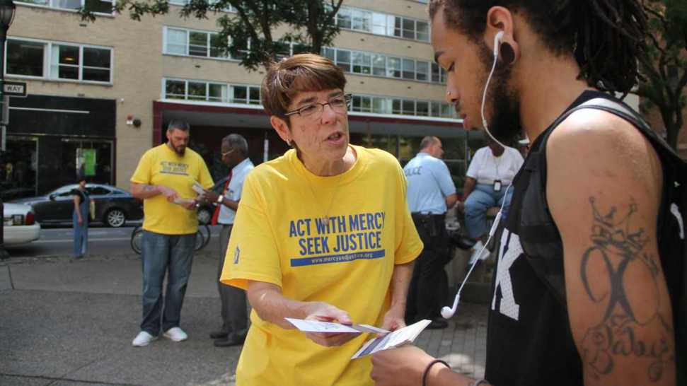 Making Sure Philly's Homeless, Poor Aren't 'Swept Away' During Papal Weekend