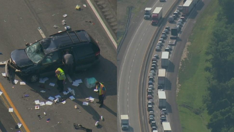 1 Dead, 2 Hurt in Pa  Turnpike Crash - NBC 10 Philadelphia